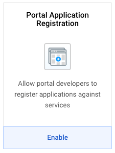 Portal Application Registration